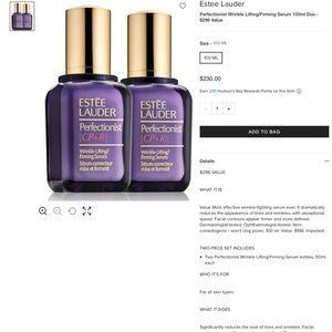 Estee Lauder Makeup - New Estée Lauder Wrinkle Lifting/Firming Serum